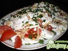 Sałatka warstwowa pomidorowo-jajeczna