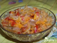 Sałatka warzywna do słoika na zimę ;-))
