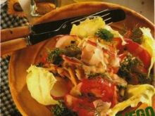Sałatka warzywna wielokolorowa