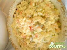 Sałatka warzywna z dodatkiem ryżu