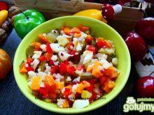 Sałatka warzywna z kalafiorem
