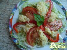 Sałatka warzywna z kuskusem