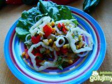 Sałatka warzywna z papryką