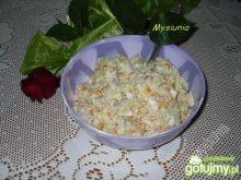 Sałatka warzywna z rybą