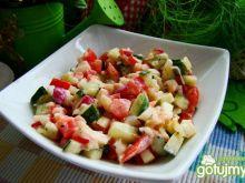 Sałatka warzywna z selerem