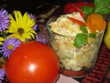 Sałatka warzywna z wędliną