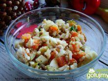 Sałatka warzywno ryżowa z tuńczykiem