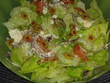 Sałatka warzywno – serowa