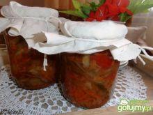 Sałatka wielowarzywna z jabłkami