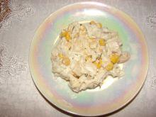 Sałatka z ananasem i kurczakiem