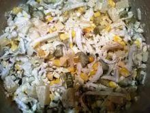 Sałatka z ananasem i serem