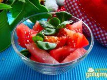 Sałatka z arbuza i pomidora
