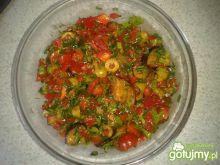 sałatka z bakłażanem 3