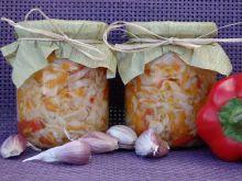 Sałatka z białej kapusty wersja z czosnkiem