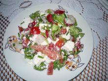 Sałatka z białym serem