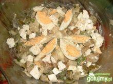 Salatka z bobem i mlodymi ziemniaczkami