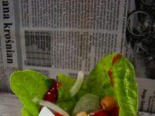 Sałatka z boćwiny i cieciorki