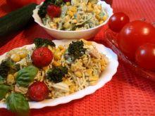 Sałatka z brokuła i szynki