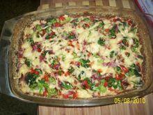 Sałatka z brokułów (na ciepło)