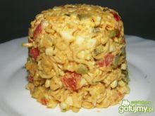 Sałatka z chińskich zupek 4