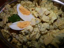 Sałatka z curry
