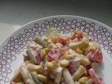 Sałatka z fasolą szparagową 2