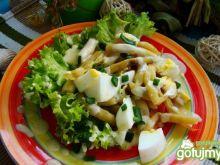 Sałatka z fasolki szparagowej i jajek