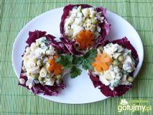 Sałatka z fasolki szparagowej z ryżem