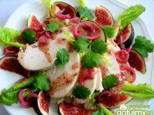 Sałatka z figami i kurczakiem