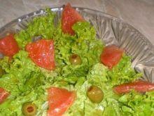 Sałatka z grapefruitem i oliwkami Mychy