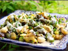 Sałatka z grillowanych warzyw