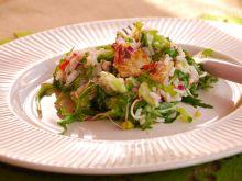 Salatka z grillowanym karmazynem