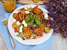 Sałatka z grillowanym kurczakiem i ziemniakami