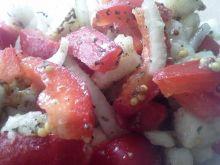 Sałatka z gruszki i papryki
