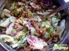 Sałatka z indyka z mixem sałat