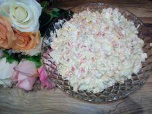 Sałatka z jajkami i fasolką szparagową ze słoika