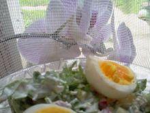 Sałatka z jajkiem 4
