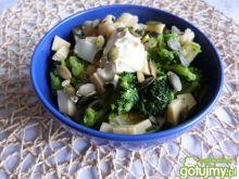 Sałatka z kalafiora i brokuła