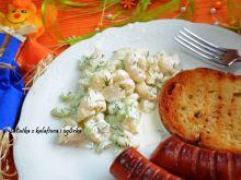 Sałatka z kalafiora i ogórka