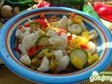 Sałatka z kalafiora i warzyw