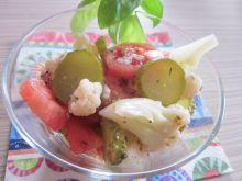 Sałatka z kalafiora z oregano i ziołami prowansal