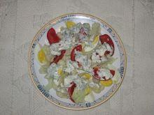 Sałatka kalafiorowa z jajkiem