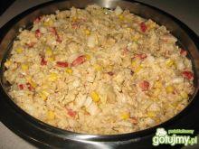 Sałatka z kapusty pekińskiej i kurczaka