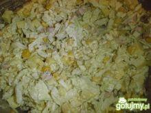 Sałatka z kapusty pekińskiej i sera