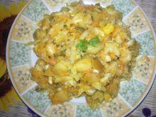 Sałatka z kukurydzą