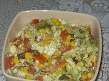 Sałatka z kukurydzą wg katarzynki