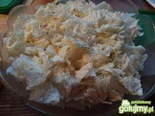 Sałatka z kurczaka z kapustą pekińską