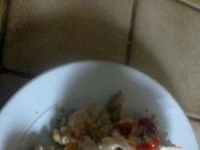 sałatka z kurczakiem -gyros