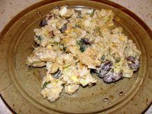 Sałatka z kurczakiem i fasolą