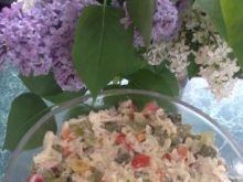 Sałatka z kurczakiem i nutką winogronową